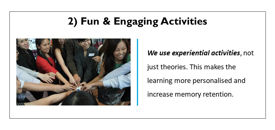 Fun & engaging activities