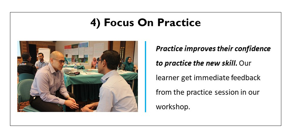 Focus on practice