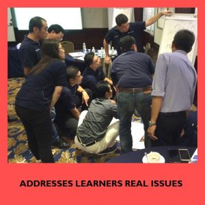 Addresses learners real issue